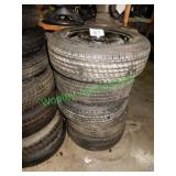 5 Misc. Full Size Spare Tires in Group