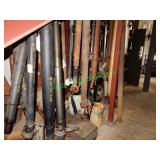 30+/- Assorted Axles in Group