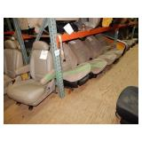 Assorted Automotive Seating in 3 Sections