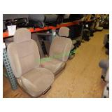 Assorted Automotive Seating in 4 Sections