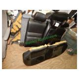 Black Leather Interior Seating in Group