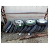 16 Spare Tires In Group