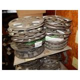 Assorted Hubcaps in Group - 2 Stacks