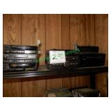 5 Assorted Audio Systems in Group