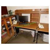 """47""""x29"""" Computer Desk W/ Hutch"""
