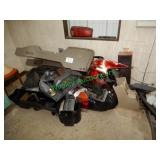 Assorted Head/Tail Lights, Center Consoles & Other