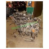 Assorted Auto Jacks & Jack Parts in Shopping Cart