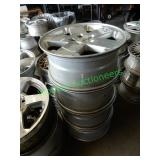 """18"""" Good Condition Jeep Wheels (Set of 4)"""