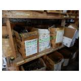 Misc. Auto Parts in Labeled Boxes (12-Boxes)