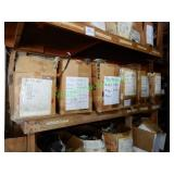 Misc. Auto Parts in Labeled Boxes (10-Boxes)
