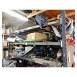 Misc. Auto Parts & Piecs in Group (2 Shelves)