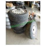 """15"""" Wheel & Tire Set W/ For 98 BMW 325i"""