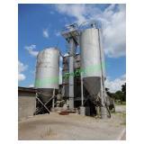 (2) Cement Silos W/ Augers