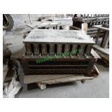 2-3/4x4x8 Complete Brick Mold