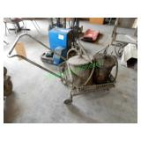 Grease Buckets, Cart & Oil Pump