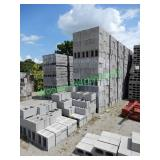 1000+/- 12x8x16 Concrete Block