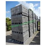 3600+/- 2x8x16 Concrete Block