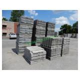 8100+/- 2-3/4x4x8 Concrete Brick