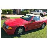 1992 R129 Mercedes Benz 300 SL Convertible Coup