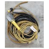 12ga Extension Cords & Trouble Light [x4]