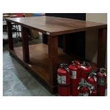 Large Work Table w/Bottom Shelf