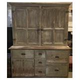 Large Wooden Pantry Cabinet