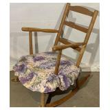 Wooden Sewing Rocker