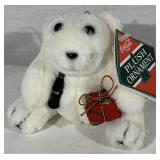 Coca Cola Plush Bear Ornament