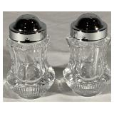 Crystal Salt and Pepper Set