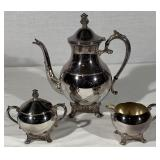 F.B. Rogers Siverplate Tea Set