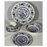 "Set of Wedgwood China ""Blue Onion"""