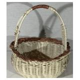 Painted wicker Basket