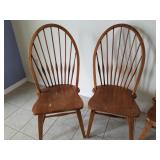 Windsor Style Side Chairs (4)