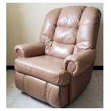 "Lane Leather ""Comfort King"" Recliner"