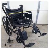 Invacare Wide Wheelchair