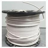 12 Ga Stranded Copper Wire, White