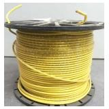 12 Ga Stranded Copper Wire, Yellow