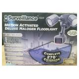 New Motion Activated Security Light