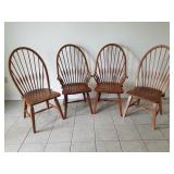 Windsor Style Arm & Side Chairs (4)