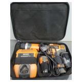 Ridgid 12V Cordless Drill, Case