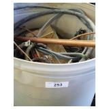35 Gal Can With Copper Wire