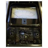 Simpson Electric Model 260 Ohmmeter