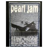 Pearl Jam Ames Bros 1993 West Coast Tour Poster