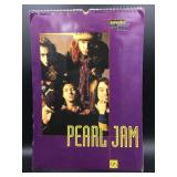 Pearl Jam 1995 Unofficial Calendar By Oliver Books