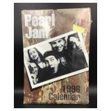 Pearl Jam 1996 Unofficial Calendar By Oliver Books