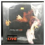 "Pearl Jam ""On Two Legs"" Live LP, Sealed"