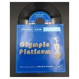 """Pearl Jam """"Olympic Platinum"""" Vinyl 45"""