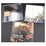 Pearl Jam Collection of Singles and Live Album (3)