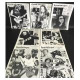 Pearl Jam Footsteps A Pearl Jam Fanzine (7 Issues)