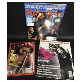 Collectible Pearl Jam Magazine Covers(3)